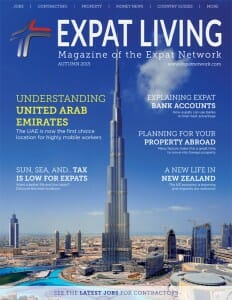 Expat Living AUTUMN 2015 Cover