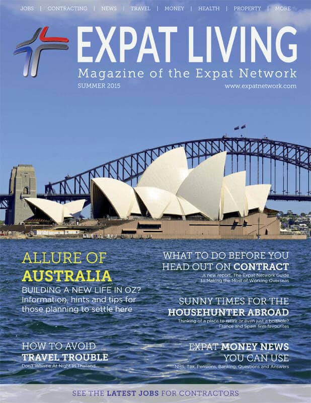 Expat Living Summer 2015 Cover